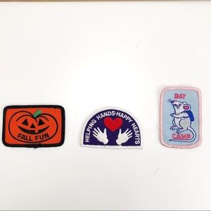 Vintage Camp Fire Girls Patches or Badge Fall Fun